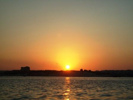 Sunset on Marsaxlokk